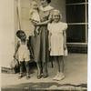 Lon, Derek, Elise, Sandra<br /> August 1950