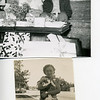 Upper photo: Grandmother Camilla Williamson Hudson and GrandDad Wiley Hudson<br /> <br /> Lower photo:  Grandmother Hudson wth kitty