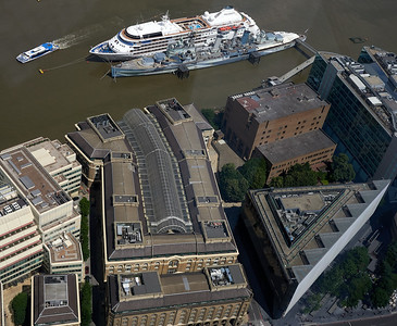 Hays Galleria and HMS Belfast