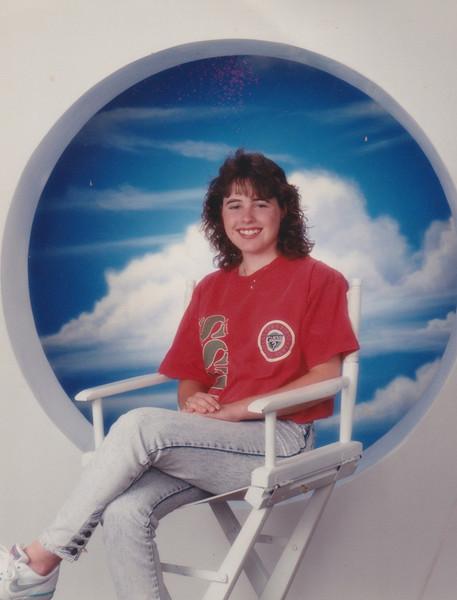 Lori's Senior Pictures-1991