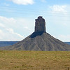 Monolith in the Southern Ute reservation lands outside of Cortez, Colorado.