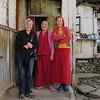 Visiting Buddhist monastery in Arunachal Pradesh, India