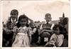 Barabara Lowe Margaret Lowe George Haworth Richard Lowe Susan Lowe abt 1949