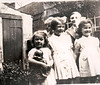 Maureen George Glenice Margaret rear 325 Burnley Road