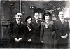Ernest Bessie wedding 1949 rear 325 Burnley Road