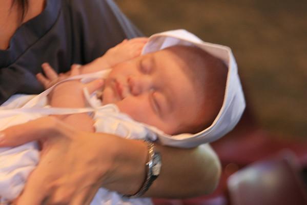 Luca Baptism