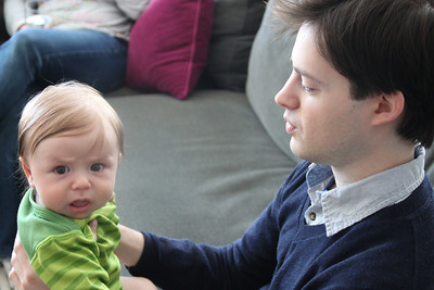 Luca with Uncle Aaron.