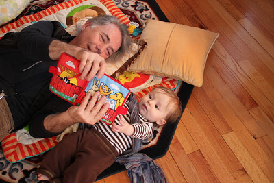 Reading with Grandpa Severini