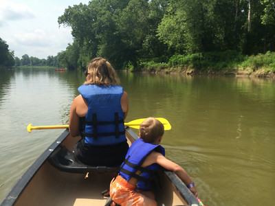 Canoeing on the Whitewater River