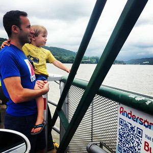 Ferry ride on the Ohio River.