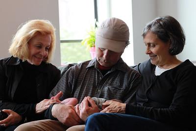 Great-grandma (Gigi) Helene, Nana and Grandpa Severini