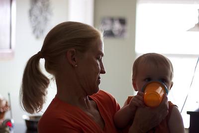 Nana Elaine and Luca