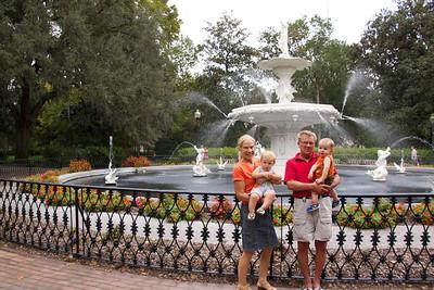 The Fountain at Forsyth Park.