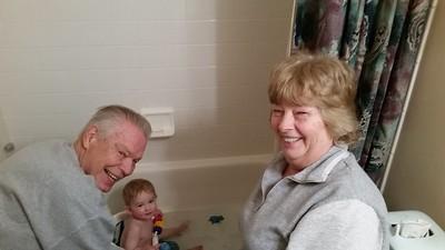 Papi and Nana Visit