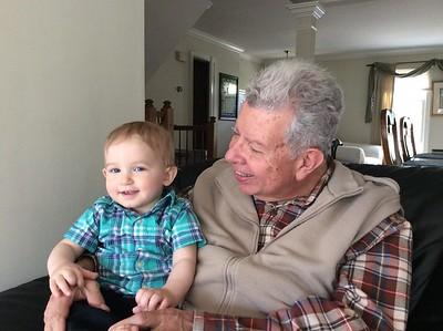 Lucas with Papa Carlos