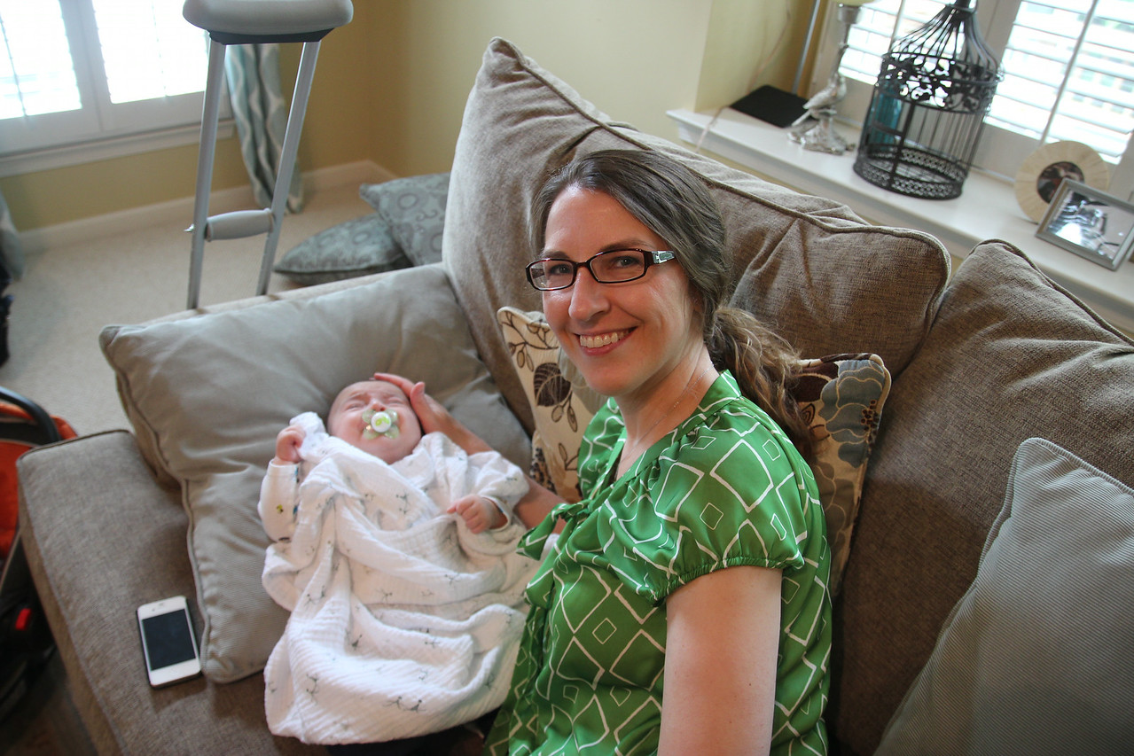Baby Shower - Allison and baby Micah
