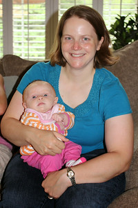Baby Shower - Tami and baby Blair