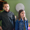 Lucas and Josie, in the home of an elementary school teacher who taught school for about 40 years.