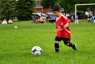 Lucas at soccer