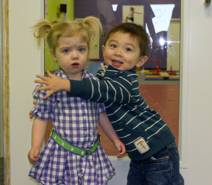 Bryce and Lexi shared a birthday party at the Little Gym. It was a blast!