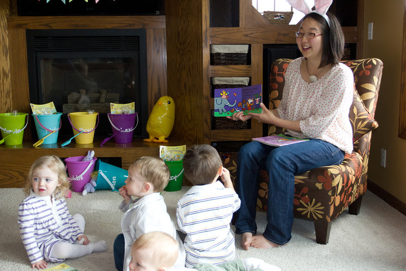 Easter story time!
