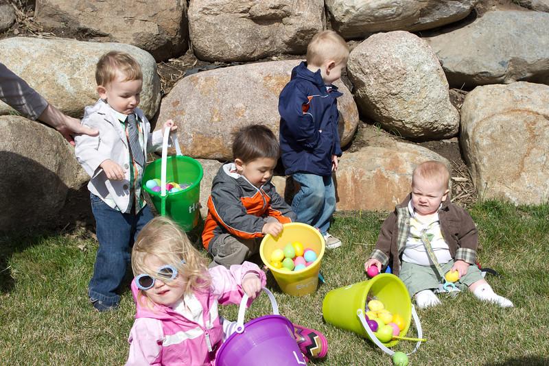 Easter egg hunt at the Smiths!
