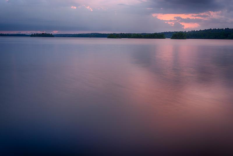 Shagawa Lake near Ely. First time using my new tripod.