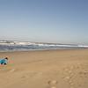 Very few people on the beach!