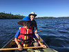 Paddling Birch Lake.  The shuttle only took about 10 minutes and we were paddling by 9:20 am!