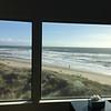 View out the living room of the condo we rented at Pajaro Dunes, half way between Monterey and Santa Cruz.