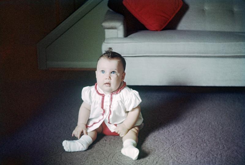 Sue Ludwig at 3 Weeks Old
