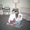 Sue Ludwig with Mom at 6 Months Old - June 1959