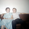 Sandy & Jim Polk - July 1957