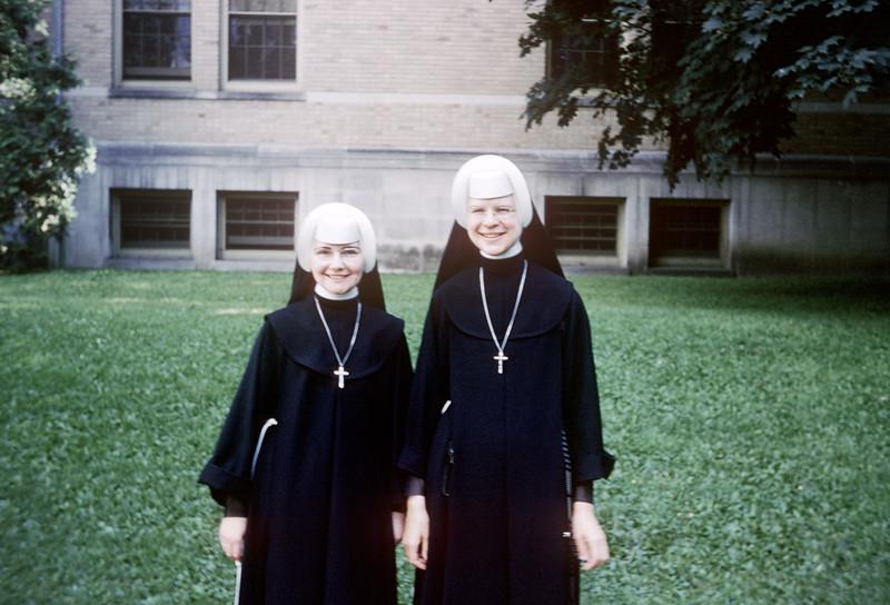 Connie Ludwig & Kay Socha - July 1959