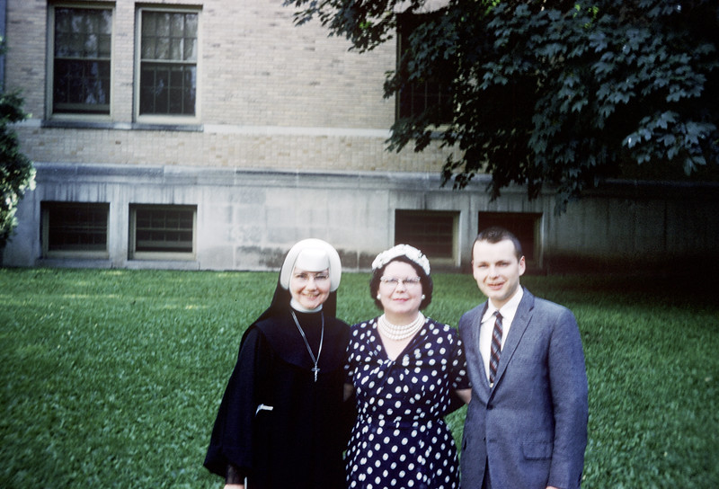 Connie, Jack, and Lucille - July 1959