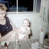 Lucy Hall with Daughter Patty - July 1959