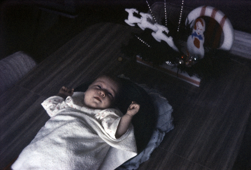 Sue Ludwig at 1.5 Months Old - January 1959