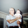 Sue Ludwig at 6.5 Months Old with Grandpa Steffen - July 1959
