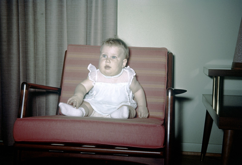Sue Ludwig at 6 Months Old - June 1959