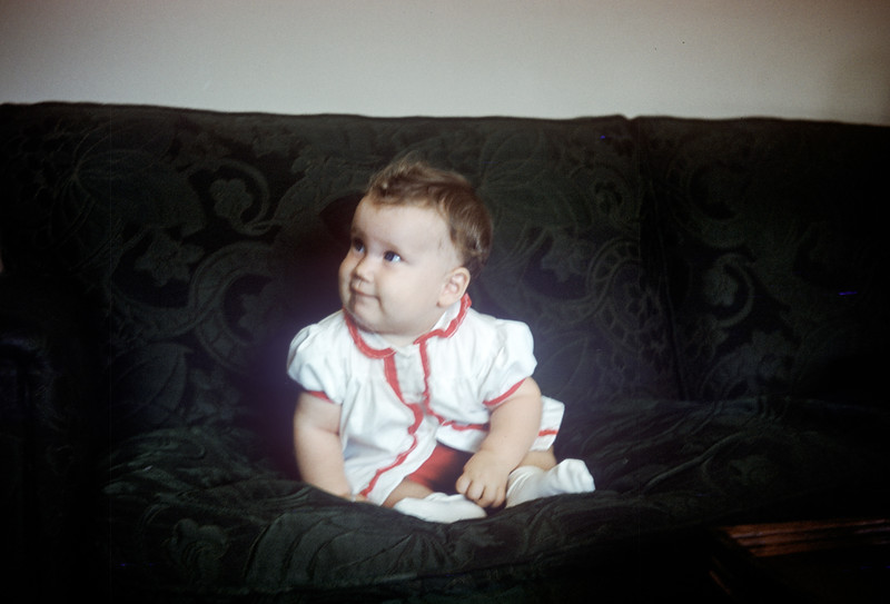 Sue Ludwig at 6.5 Months Old - July 1959