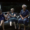 Sue Ludwig at 6.5 Months Old with Grandma Steffen, Marge, Ann - July 1959