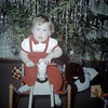Sue Ludwig at 13 Months Old - Christmas - December 1959
