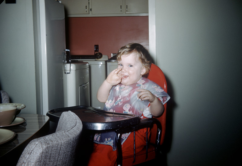 Sue Ludwig at 14 Months Old - January 1960