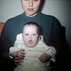 Linda Ludwig (2 mos) with Mom - January 1960
