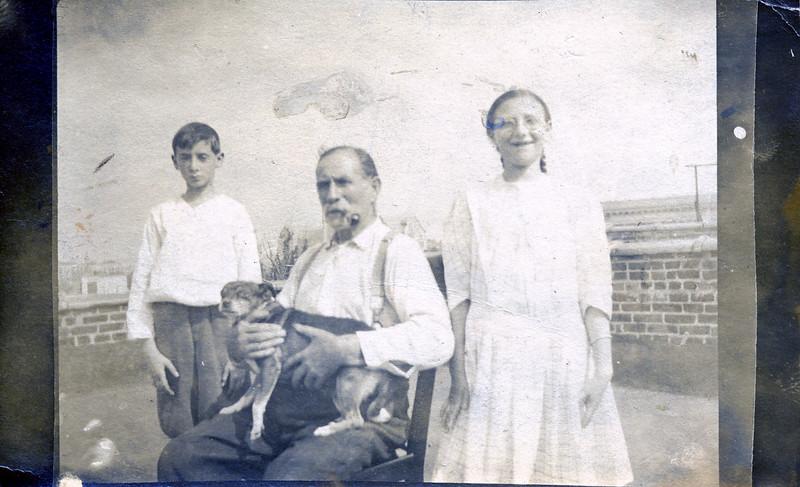 Great Grandfather Wihelm Luft,  David Luft's father, Sam & Ruth, Jennie's kids