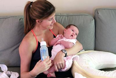 MaryBeth feeding Quinn 5-4-2013.