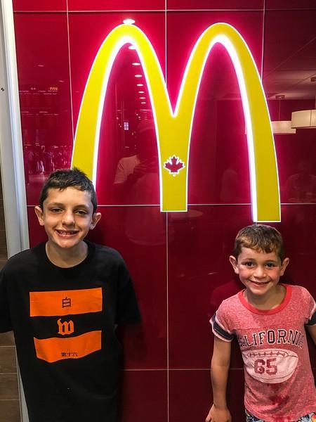 Canadian McDonald's