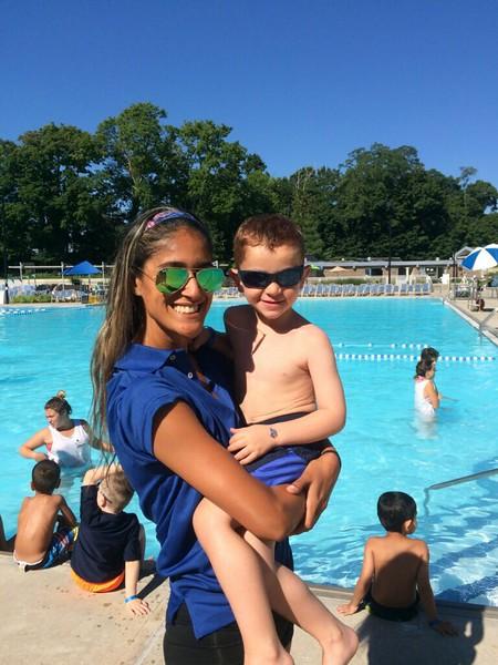 Luke saw Bethany at Camp Parkwood!