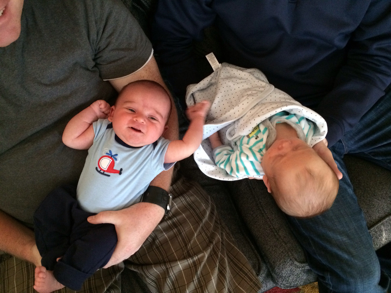 Future programming buddies. These boys were born 2 days apart