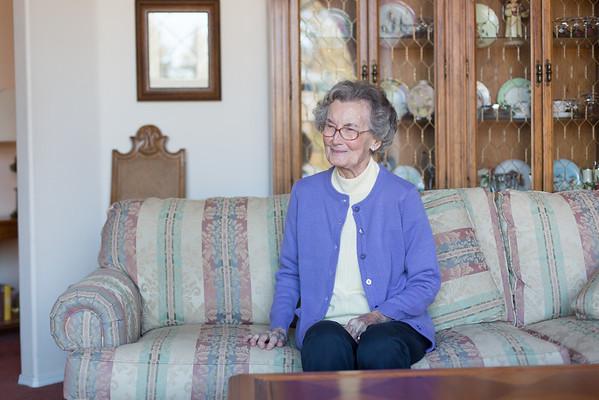Lunch With Grandma Helen 1-23-2014